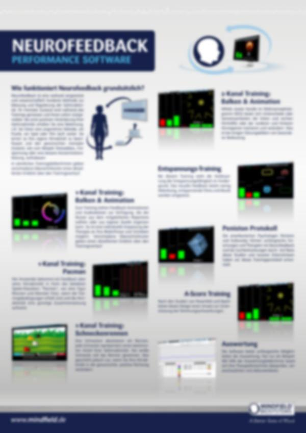 Poster Neurofeedback Performance (DIN A3)