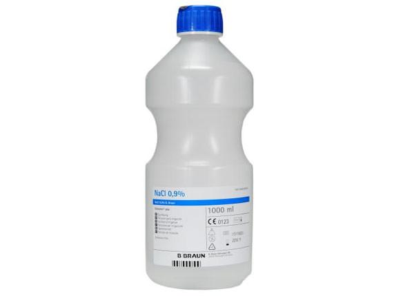 Isotonic Common Salt Solution, 1000ml (Without Spray Bottle)