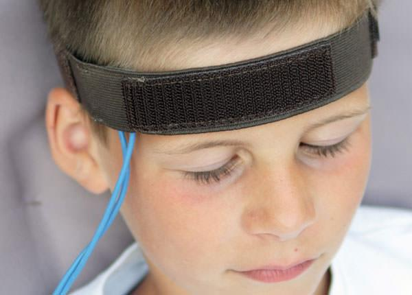 Temporal Sensor with Headband (Vasoconstriction)